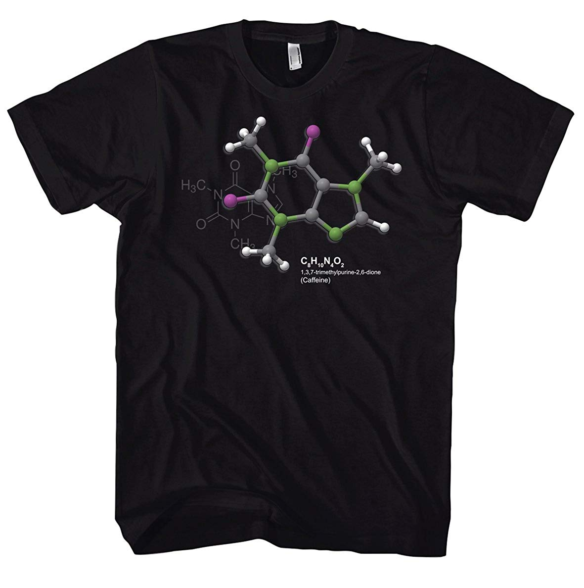 Geek Caffeine – Science – Physics – Nerd 700753 T-Shirt
