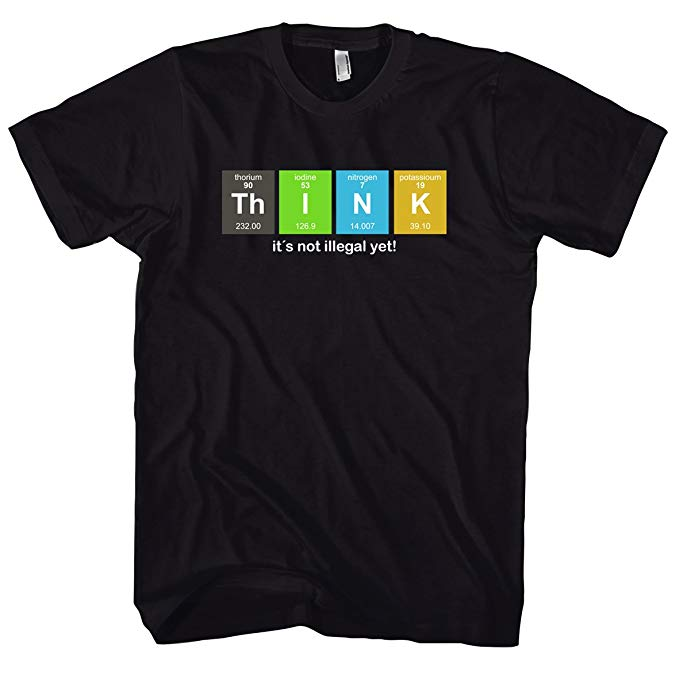 Chameleon Clothing Geek Think – Science – Physics – Nerd 700794 T-Shirt